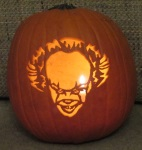 Pennywise (It) pumpkin